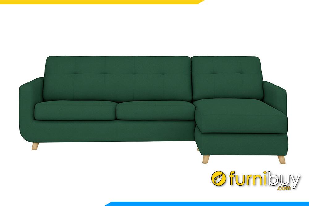 Mẫu sofa nỉ cho nhà chung cư FB20053