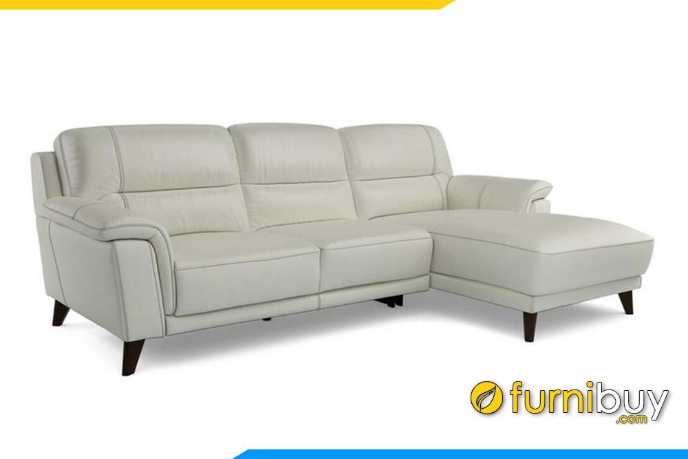 Ghế sofa trở lên sang trọng hơn với gam màu kem hiện đại