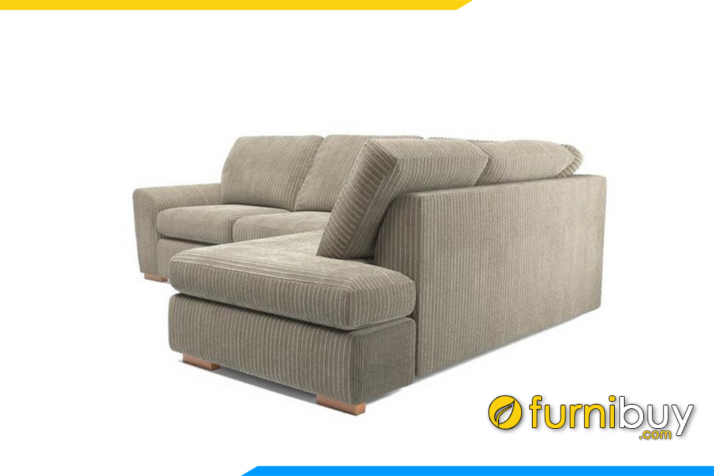 Mẫu ghế sofa góc hiện đại cho phòng khách sang trọng