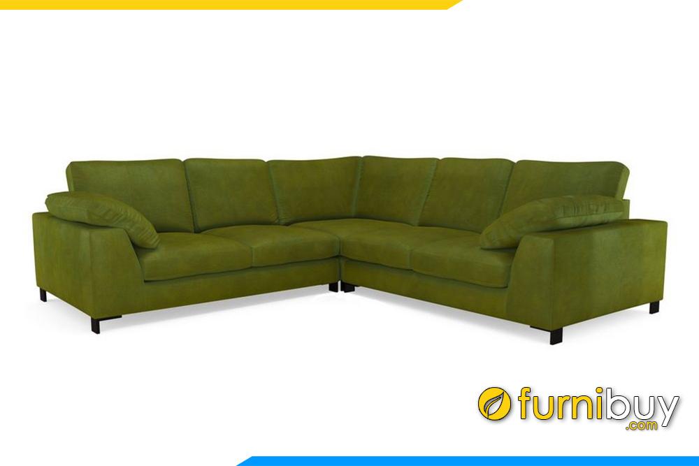 Hình ảnh mẫu ghế sofa phòng khách FB20020 với chất liệu nỉ hiện đại