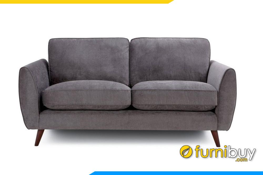 Ghế sofa phòng khách với màu ghi xám nổi bật