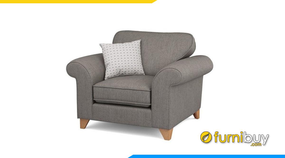 Sofa phòng ngủ chất liệu nỉ vải