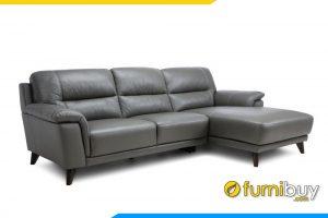 Với kiểu dáng góc L bạn có thể kê sofa tại góc nhà mình
