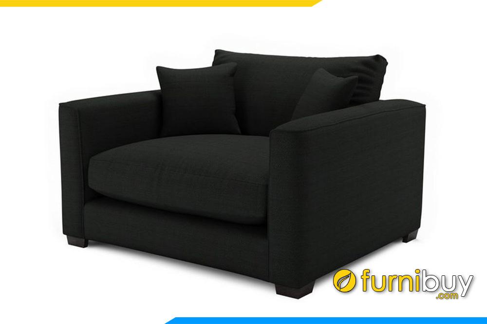 Ghế sofa nhỏ FB20031 được thiết kế 1 chỗ ngồi gọn gàng, tiện lợi