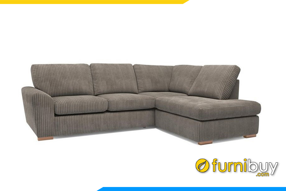 Mẫu sofa phòng khách đẹp với gam màu ghi xám hiện đại