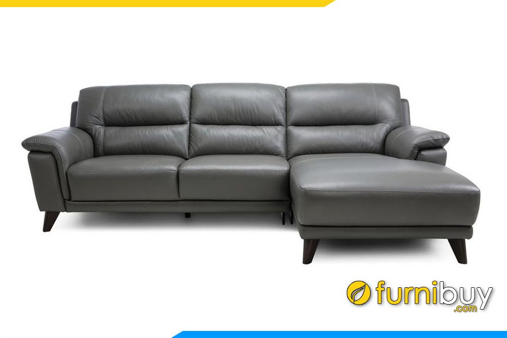 Hình ảnh ghế sofa da FB20012 sang trọng cho phòng khách gia đình
