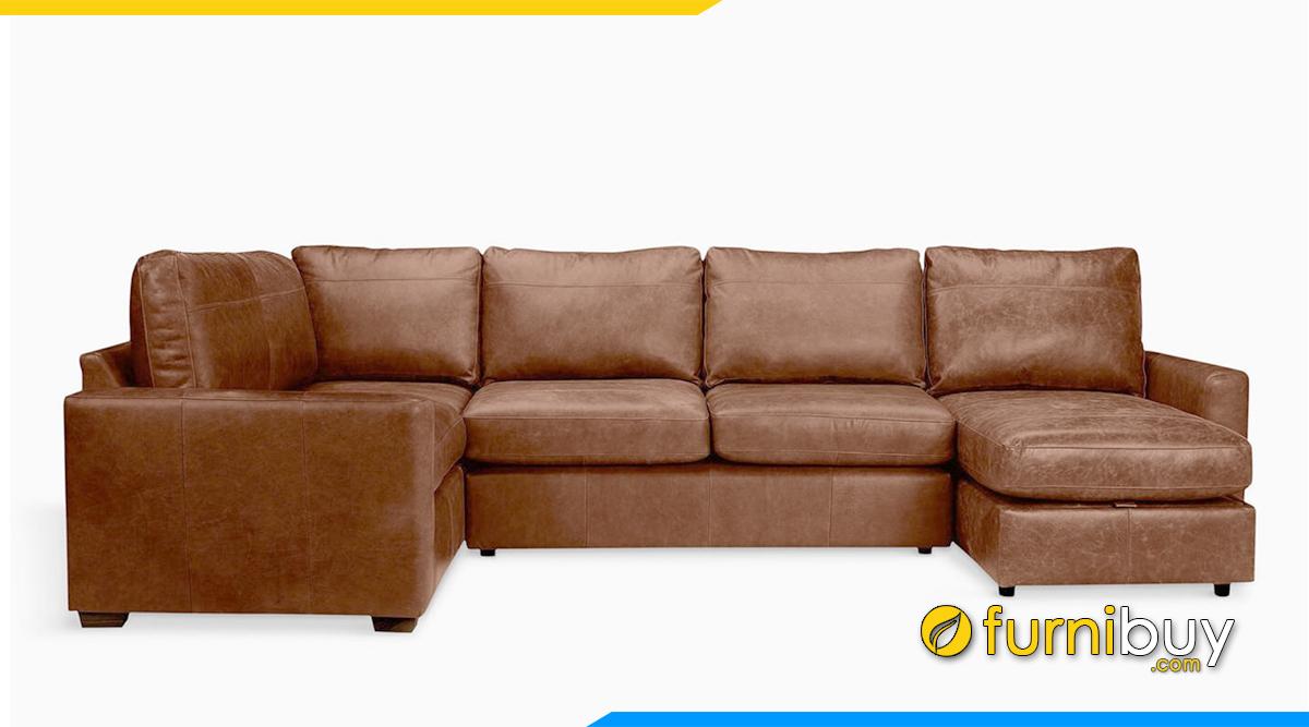 Sofa thiết kế kiểu góc chữ U