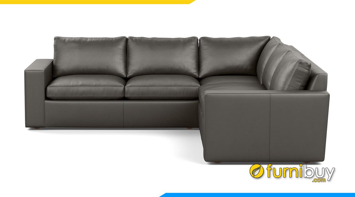 Sofa góc chữ L kê phòng khách
