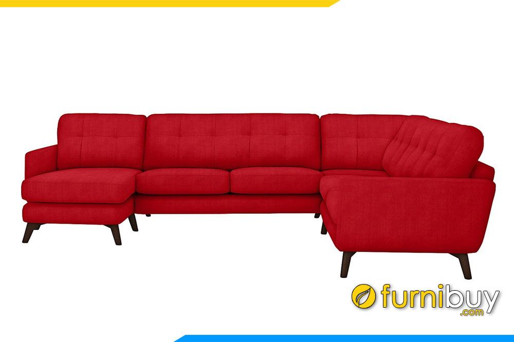 sofa goc ni mau do fb20059