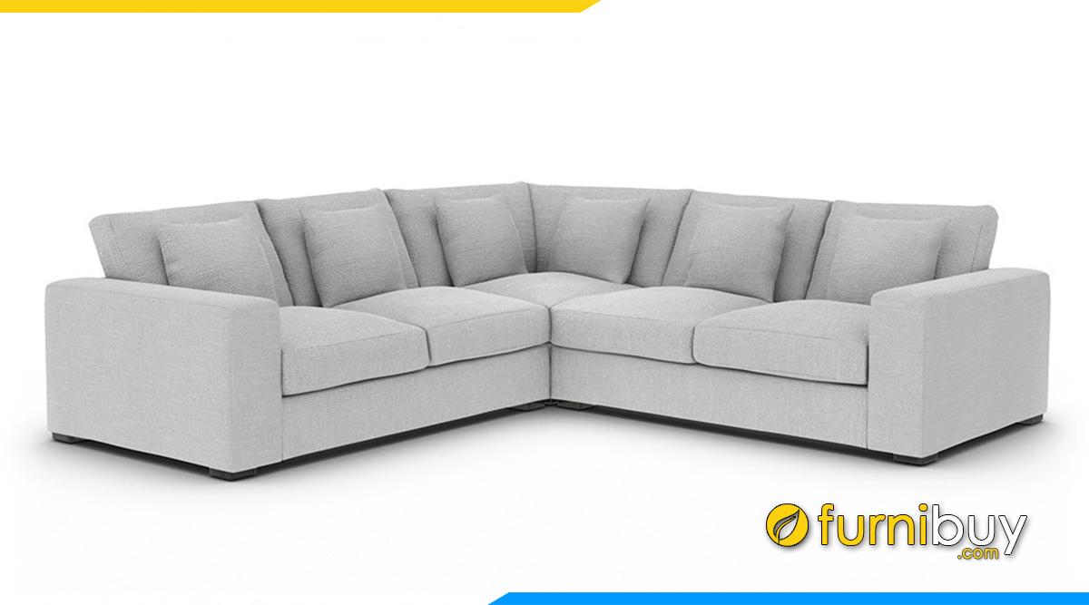 Sofa góc đẹp kiểu dáng vuông vắn