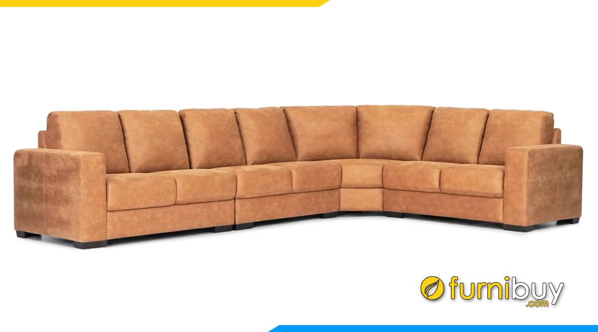 Sofa góc chữ L cho phòng khách rộng