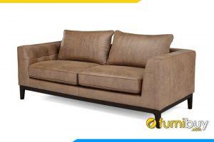Ghế sofa với gàm màu nâu nhạt sang trọng đang rất được ưa chuộng