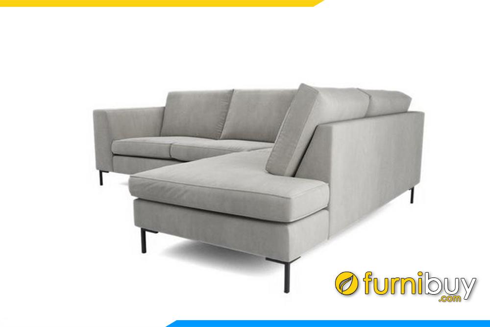 Ghế sofa FB20010 được sử dụng chất liệu vỏ bọc bằng nỉ nhập khẩu cao cấp