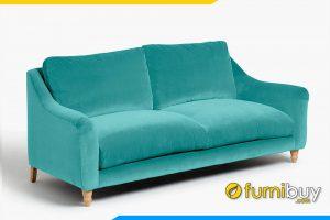Bộ ghế sofa văng nỉ đẹp cho phòng khách hiện đại FB20057