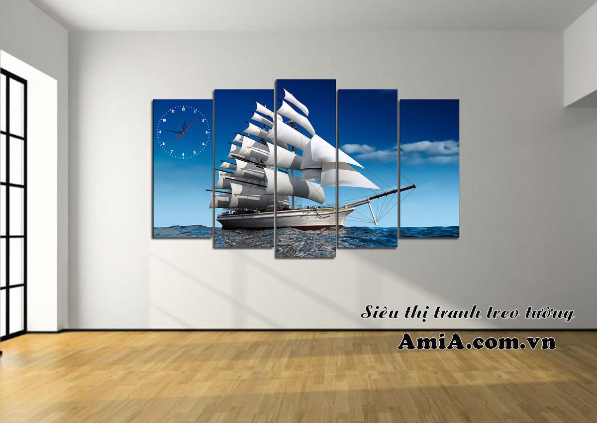 Tranh thuận buồm xuôi gió AmiA330