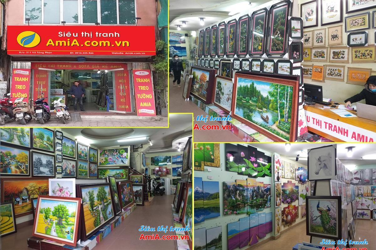 Hình ảnh cửa hàng tranh phong thủy cho người mệnh Kim Amia
