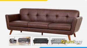 Ghế sofa 3 chỗ ngồi đẹp dạng văng