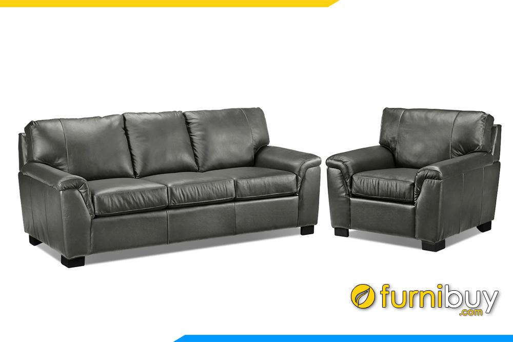 Bạn có thể kết hợp thêm với 1 ghế đơn nhỏ để tạo lên một bộ sofa hoàn chỉnh thật sang trọng