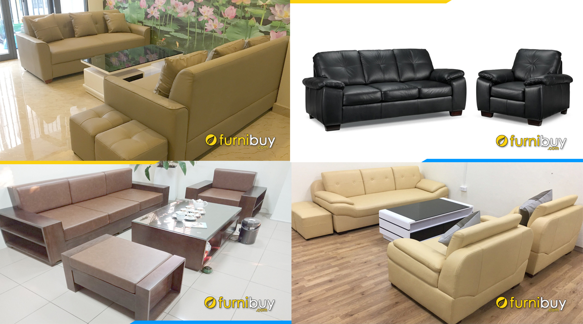 bộ nhiều ghế sofa đẹp