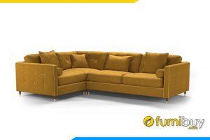 Ghế sofa có kích thước nhỏ gọn phù hợp với đại da số phòng khách hiện nay từ nhà phố, chung cư cho đến biệt thự