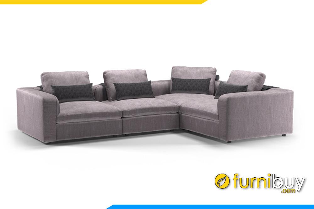 Ghế sofa sử dụng chất liệu da cao cấp rất mềm mại cho người sử dụng