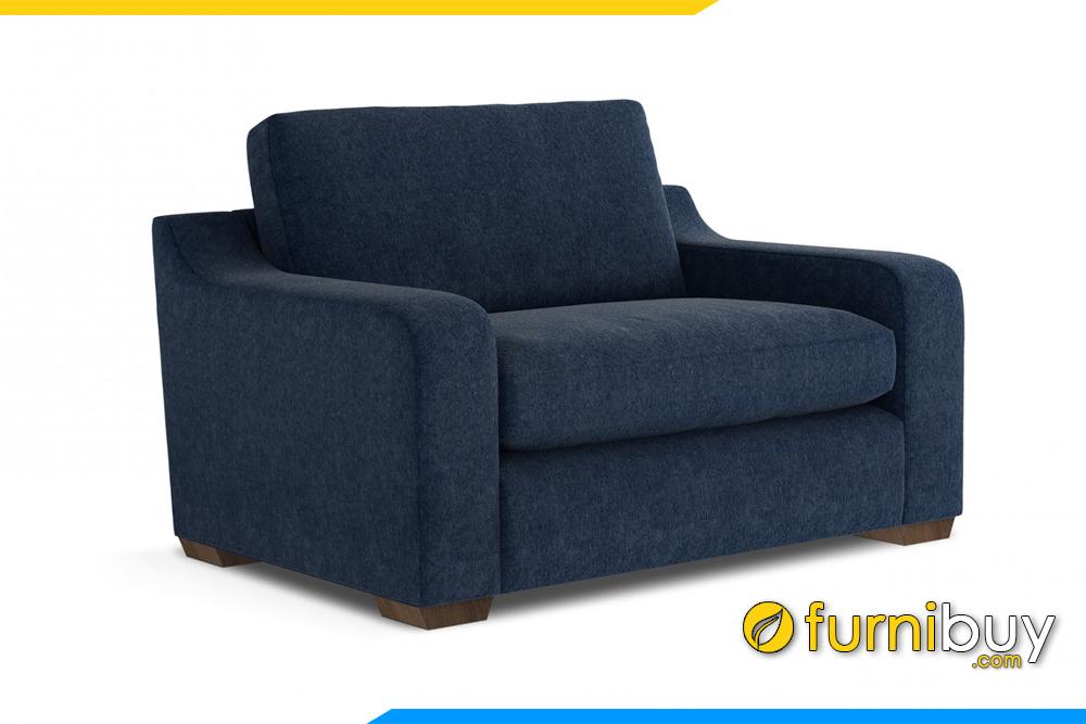 Ghế sofa với gam màu xanh than độc đáo