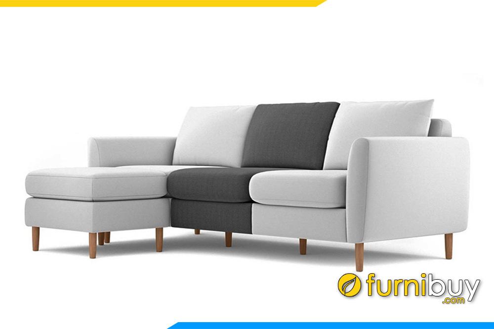 Mẫu ghế sofa nỉ đẹp nhất FBS-20203