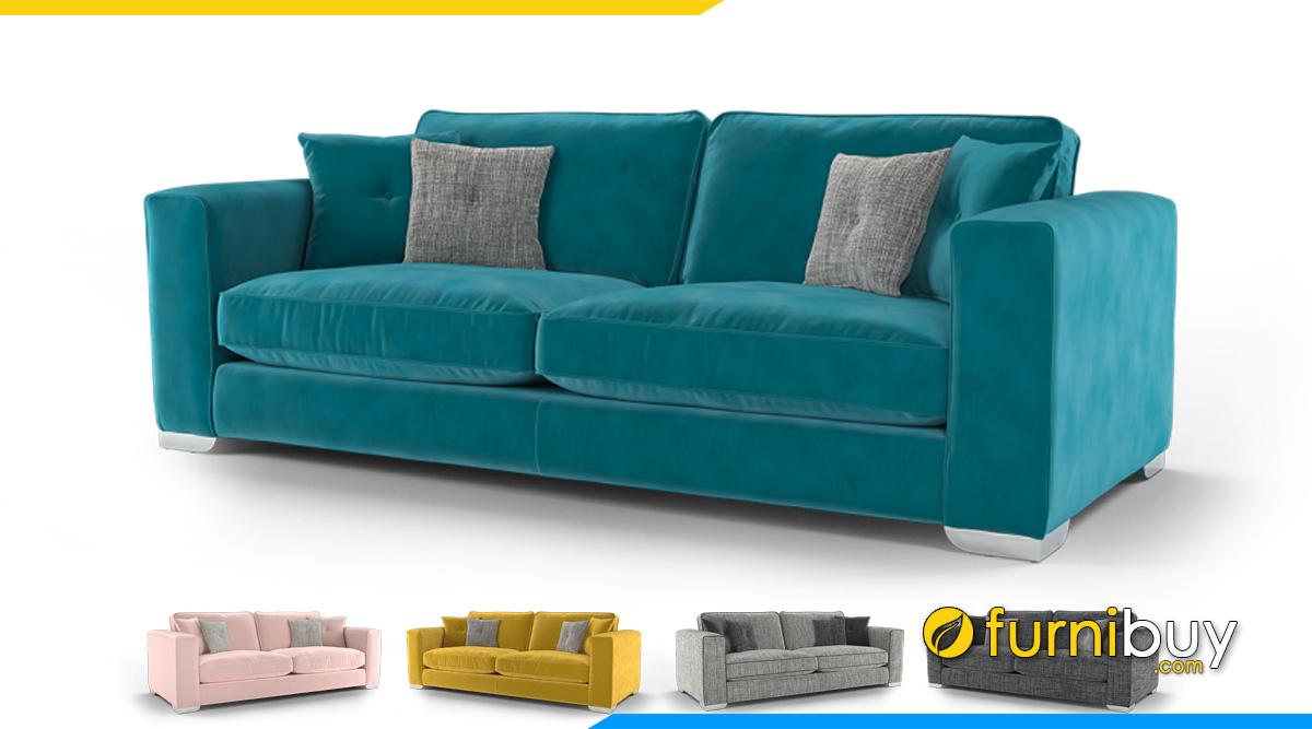 Sofa nỉ đẹp kích thước nhỏ mini