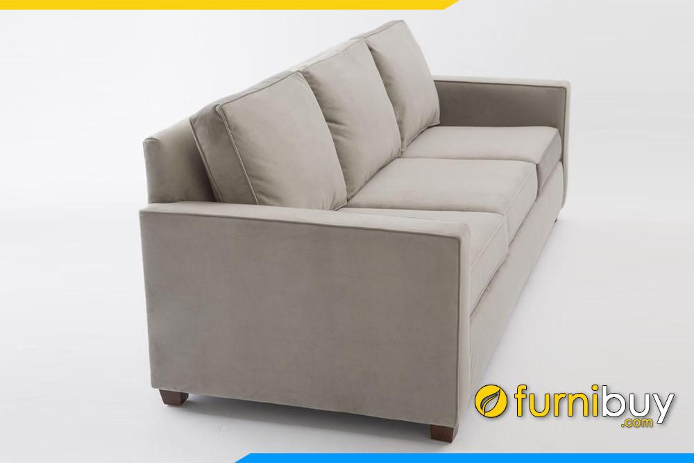 Ghế sofa văng 3 chỗ ngồi với kích thước khoảng 1m8 - 2m phù hợp với phòng khách chung cư hiện nay