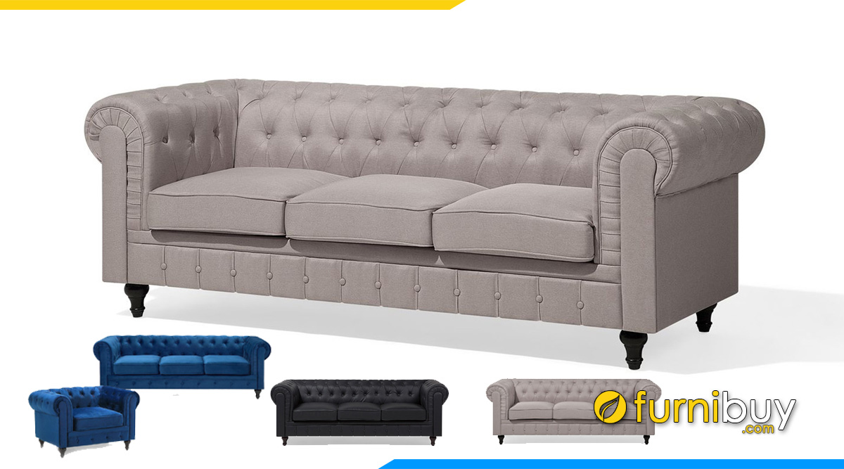 Sofa tân cổ điển dạng văng