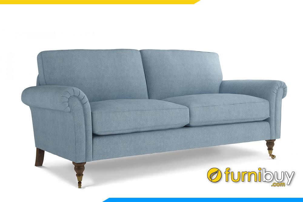 Ghế sofa văng cổ điển FB20098 với chất liệu vỏ bọc bằng nỉ mềm mại rất được ưa chuộng