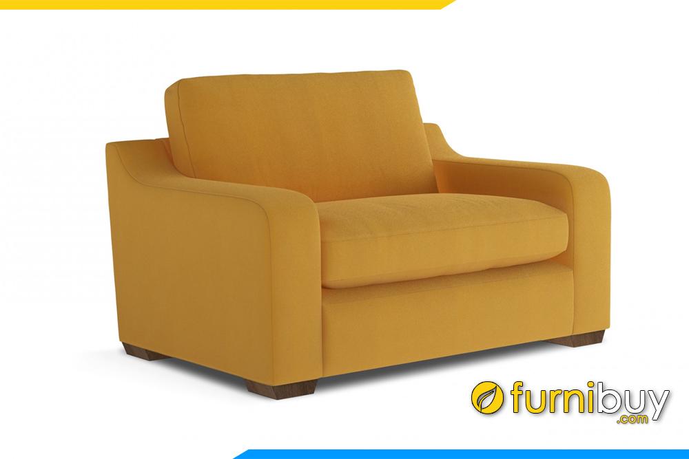 Ghế sofa nỉ FB20103 với sự đa năng phù hợp kê nhiều không gian khác nhau