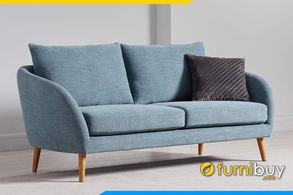 Với kích thước 1m4 - 1m6 nhỏ gọn dễ dàng di chuyển mỗi khi bạn chuyển vị trí kê sofa FB20111