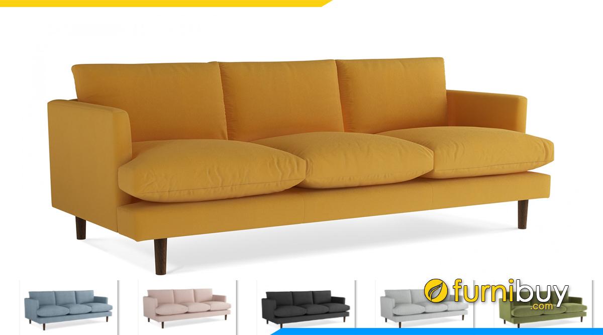 Ghế sofa vải nỉ giá rẻ