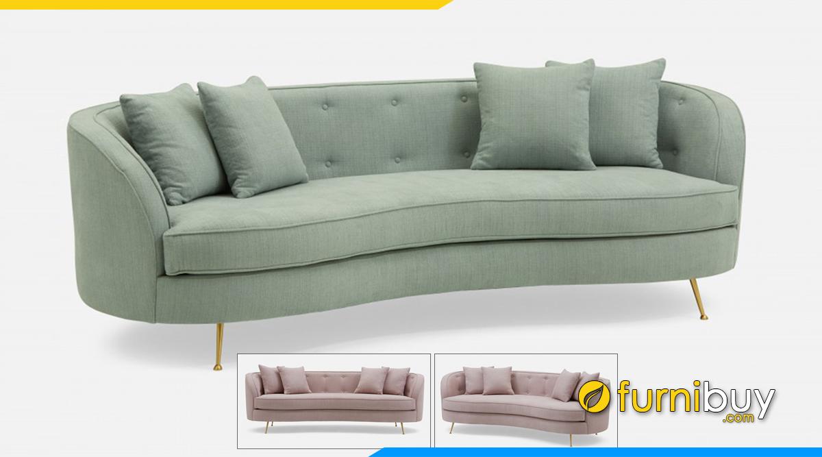 Mẫu sofa thiết Đủ kế mới nhất kiểu chữ I