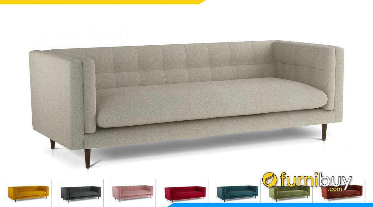 Mẫu sofa nỉ thiết kế đẹp