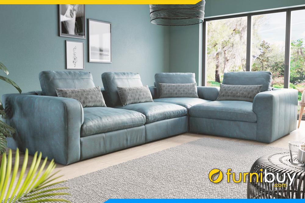Hình chất mẫu ghế sofa đang làm mưa làm gió, rất được ưa chuộng hiện nay FB20046