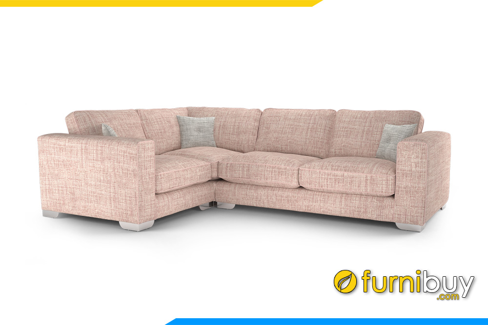 Hình ảnh ghế sofa góc cho phòng khách sang trọng FB20043