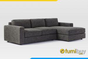 Ghế sofa với tay ghế thấp kết hợp với chân đế thấp cho bộ sofa trở lên được bắt mắt hơn