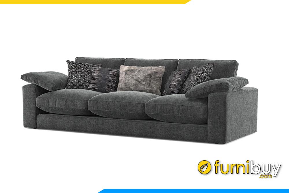 Hình ảnh ghế sofa văng 3 chỗ ngồi đẹp FB20038