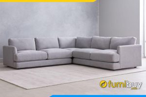 Ghế sofa với chất liệu vải nỉ cao cấp có độ bền và thoáng khí cực tốt