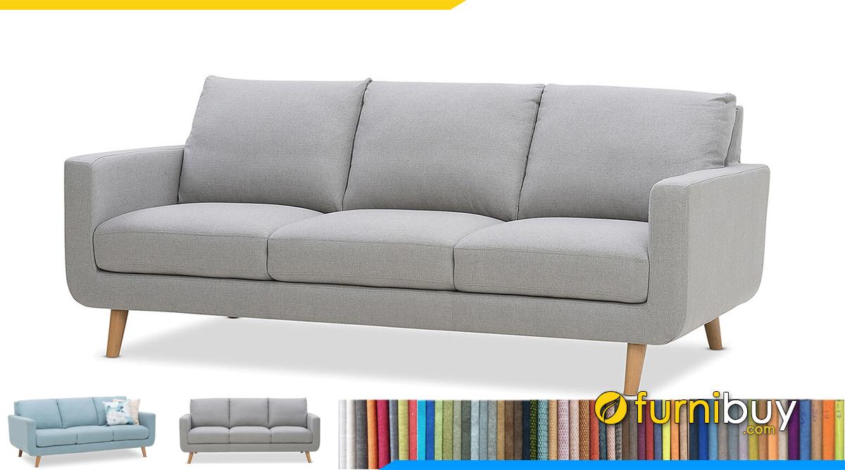 Ghế sofa văng dài 3 chỗ giá rẻ