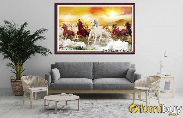 Người tuổi Mùi treo tranh ngựa có quý nhân phù trợ
