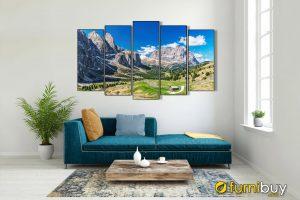 Tranh treo tường phòng khách công ty đẹp AmiA 1584