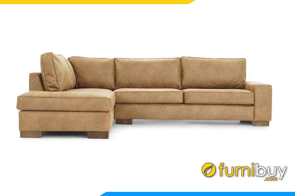 Hình ảnh mẫu sofa góc chữ L cho phòng khách hiện đại FB20141
