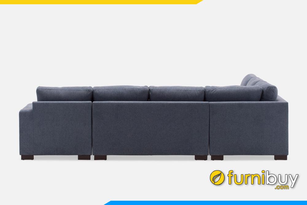 Ghế sofa được chia thành những cục văng nhỏ để tiện cho việc vận chuyển đến nhà khách hàng