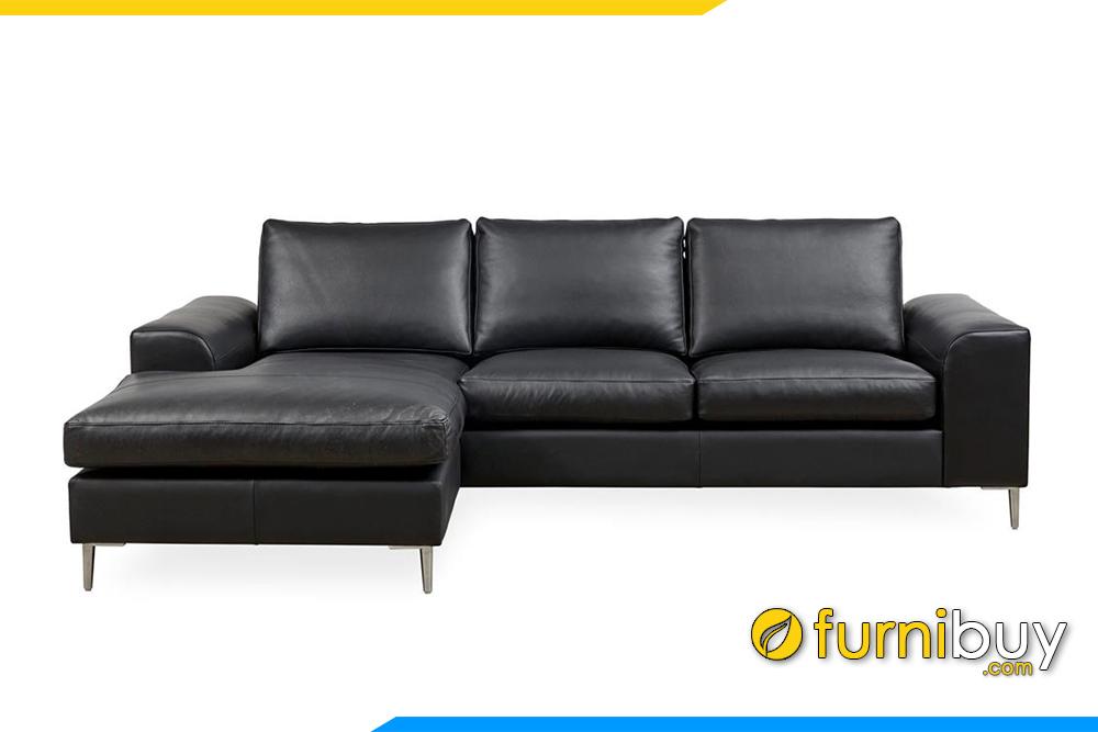 Hình ảnh mẫu ghế sofa góc phòng khách đẹp FB20131