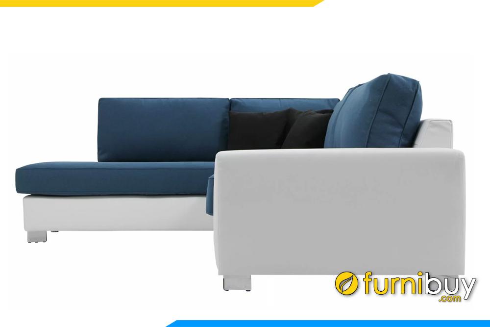 Bộ sofa được phối màu sắc rất hài hòa và bắt mắt