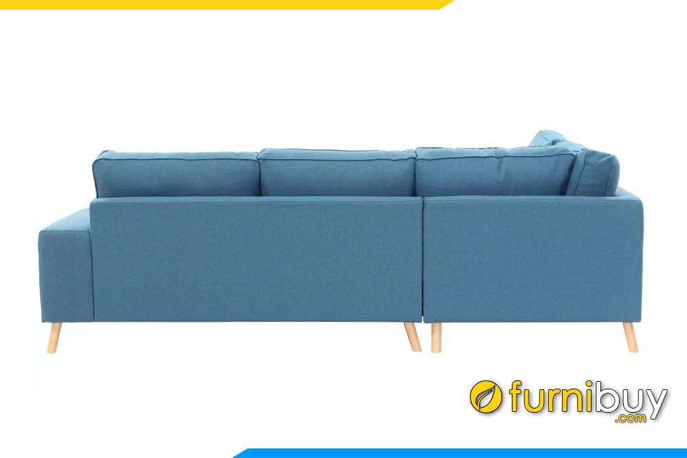 Lưng ghế 2 lớp dày dặn được thiết kế cao giúp ôm chọn phần vai và gáy của bạn khi dựa vào sofa