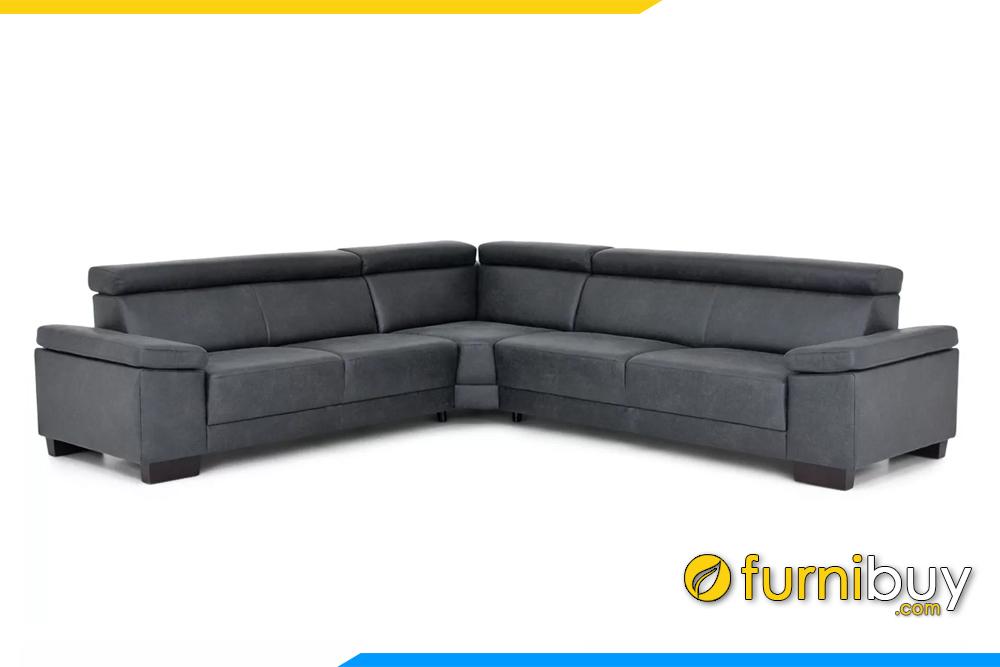 Hình ảnh mẫu ghế sofa góc chữ V hiện đại Fb20137